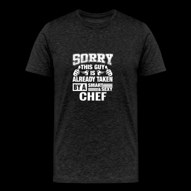 Chef Husband, Lover or Boyfriend Gift Shirt - Men's Premium T-Shirt