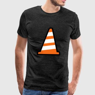 Pylon Construction Site - Men's Premium T-Shirt