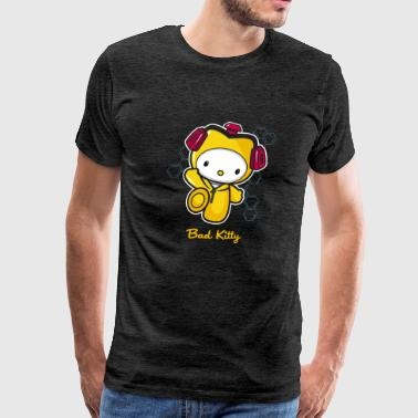 Hello Bad Kitty - Men's Premium T-Shirt