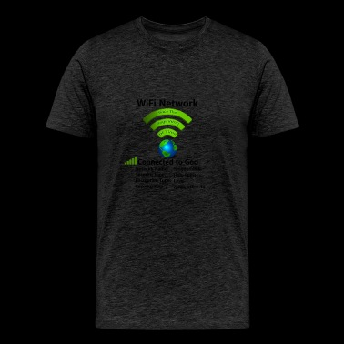 Wifi Connection - Men's Premium T-Shirt