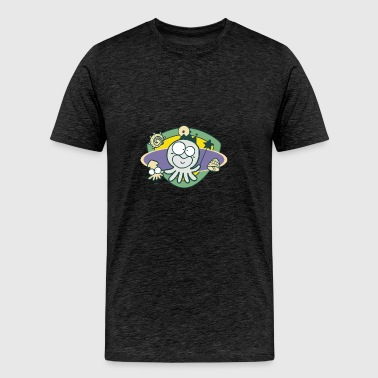 Octopus for kids - Men's Premium T-Shirt