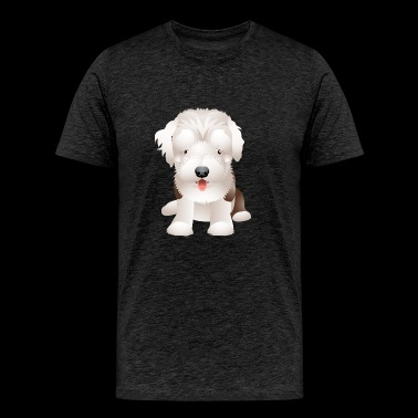 Cute and sweet puppy 27 - Men's Premium T-Shirt