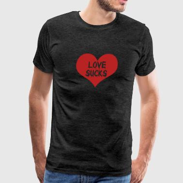 Love Sucks Vampire Diaries - Men's Premium T-Shirt