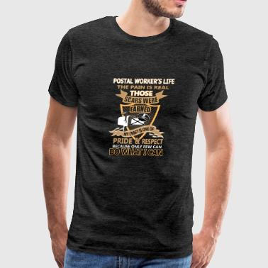 postal worker - Men's Premium T-Shirt