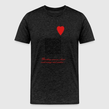Love Maze - Men's Premium T-Shirt