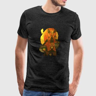 Black Fox Diana Paige - Men's Premium T-Shirt
