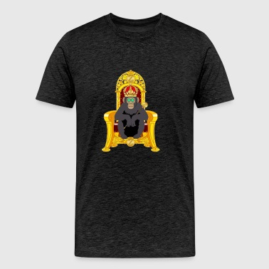 Bitcoin Monkey King - Alpha Edition - Men's Premium T-Shirt
