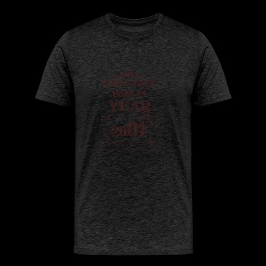 this guy born in year 2001 - Men's Premium T-Shirt