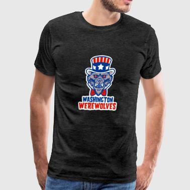 Washington Werewolves - Men's Premium T-Shirt