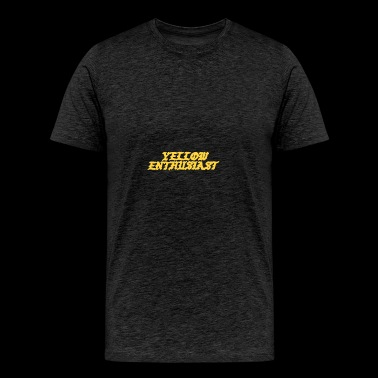 yellow enthusiast - Men's Premium T-Shirt