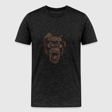 ape face - Men's Premium T-Shirt