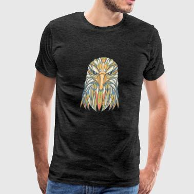 Ethnic Eagle - Men's Premium T-Shirt