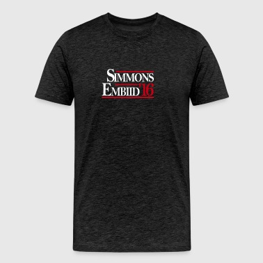 Simmons Embiid '16 - Men's Premium T-Shirt