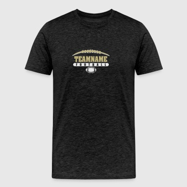 Team name foot ball - Men's Premium T-Shirt