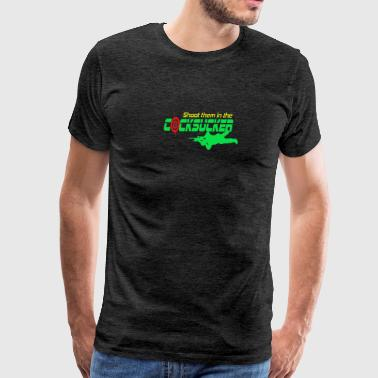 Shoot Them in the Cocksucker - Men's Premium T-Shirt