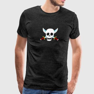 One Piece Haired Pirates Shanks - Men's Premium T-Shirt