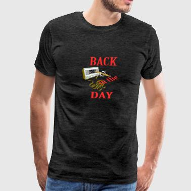 Back in the day - Men's Premium T-Shirt