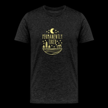 Permanently tired - Men's Premium T-Shirt