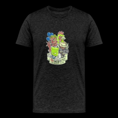 Five Nights at Rooster - Men's Premium T-Shirt