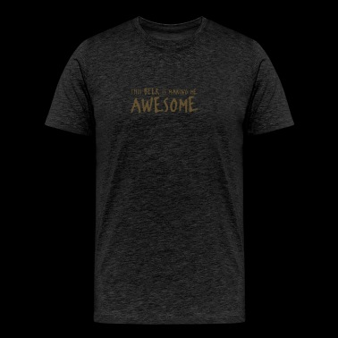 Beer Awesome - Men's Premium T-Shirt
