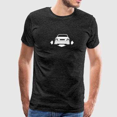 Mercedes Benz W124 - Men's Premium T-Shirt