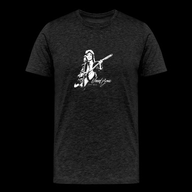 David Bowie ZIGGY STARDUST Play Gitar - Men's Premium T-Shirt