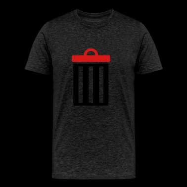 Garbage bin for trash - Men's Premium T-Shirt