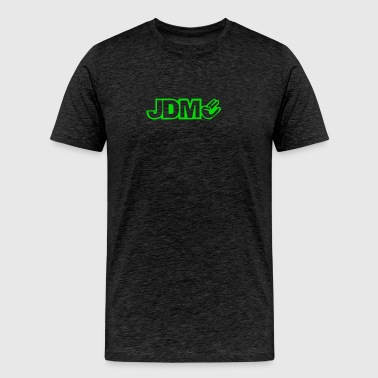 BLACK funny GLOW IN DARK glowing - Men's Premium T-Shirt