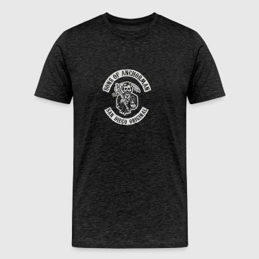 Sons of Anchorman - Men's Premium T-Shirt