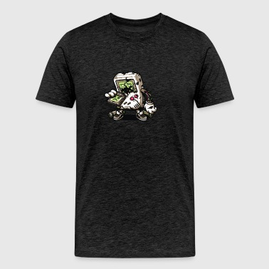 ZomBoy Attacks - Men's Premium T-Shirt