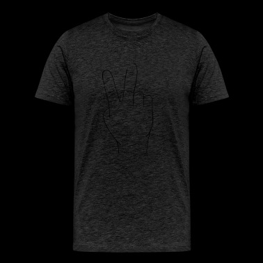 Hand sign - Men's Premium T-Shirt