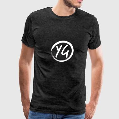 YG Logo - Men's Premium T-Shirt