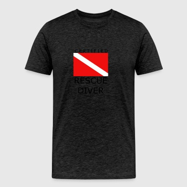 Rescue Diver - Men's Premium T-Shirt