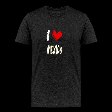 I love MEXICO - Men's Premium T-Shirt