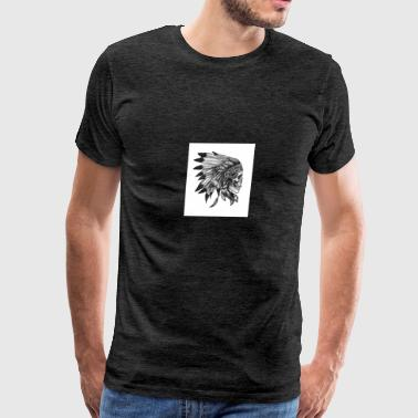 Nick's wild Indian collection - Men's Premium T-Shirt