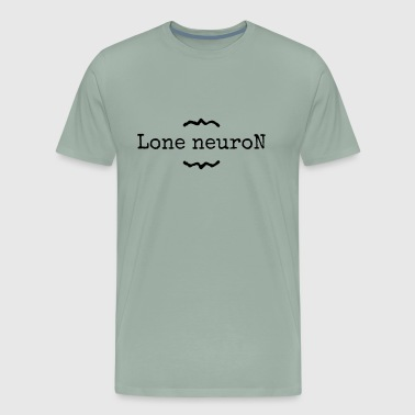 lone neuron - Men's Premium T-Shirt