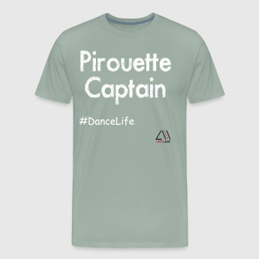 pirouette captain - Men's Premium T-Shirt