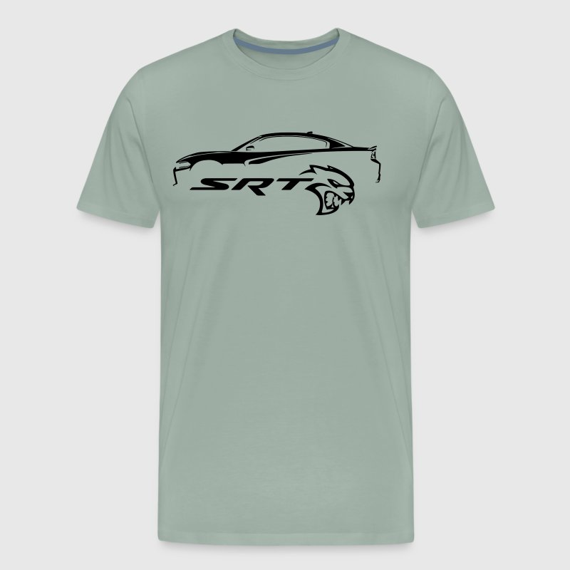 Dodge Charger Hellcat - Men's Premium T-Shirt