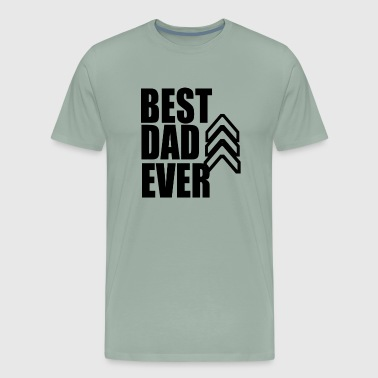 best dad ever 2018 - Men's Premium T-Shirt