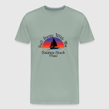 baldwin beach maui - Men's Premium T-Shirt
