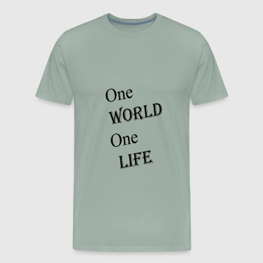 one world - Men's Premium T-Shirt