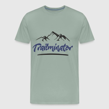 Trailminator - Trail Running - Men's Premium T-Shirt