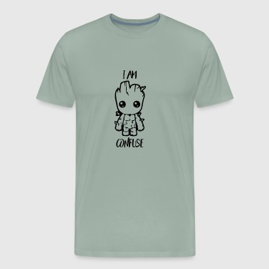 I Am Confuse - Men's Premium T-Shirt