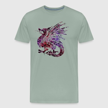 dragon/serpent tail - Men's Premium T-Shirt