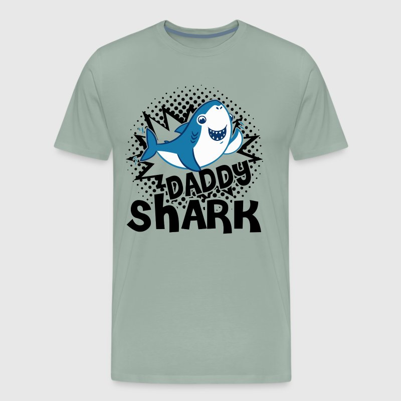 Daddy Shark Shirt - Men's Premium T-Shirt