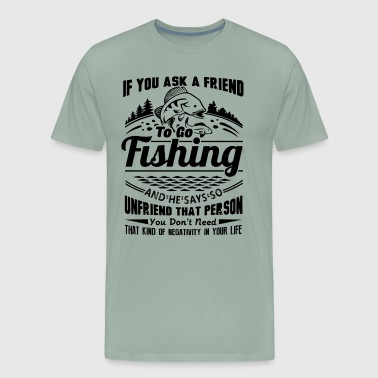 Fishing In Your Life Shirt - Men's Premium T-Shirt