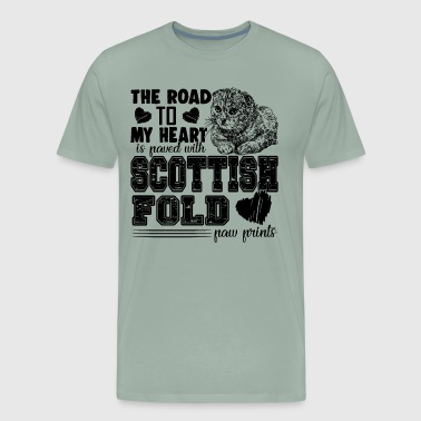 Fold Love Scottish Fold Shirt - Men's Premium T-Shirt
