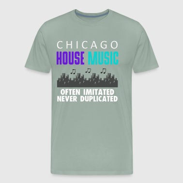 CHICAGO HOUSE MUSIC DESIGN - Men's Premium T-Shirt