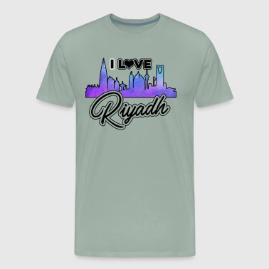 I Love Riyadh Shirt - Men's Premium T-Shirt