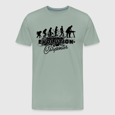 Evolution Carpenter Shirt - Men's Premium T-Shirt